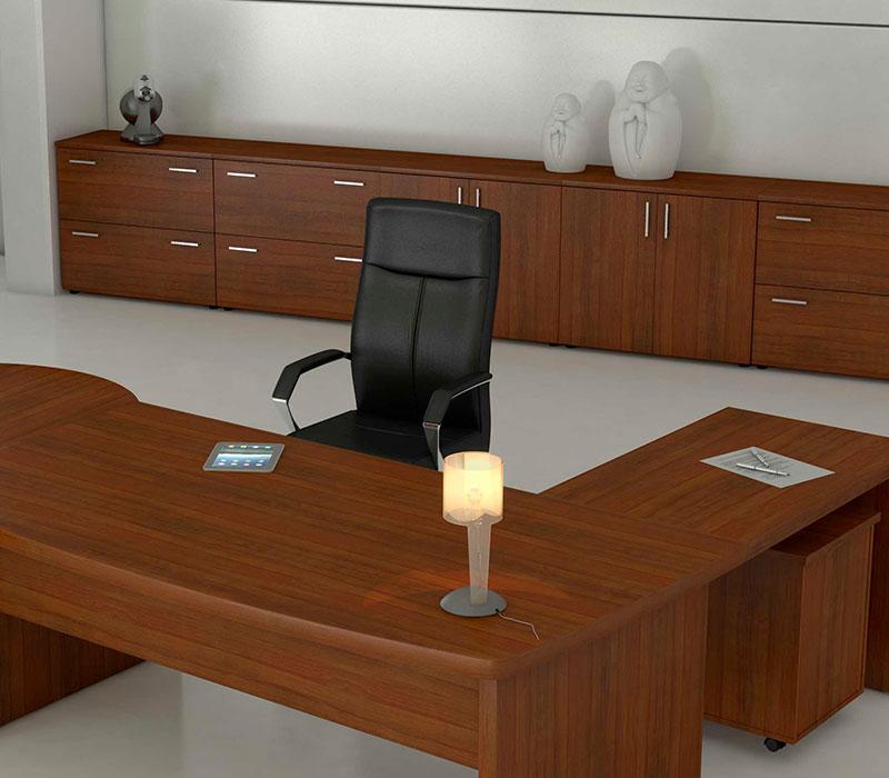 Rangement bois reference buro mobilier de bureau for Mobilier bureau particulier